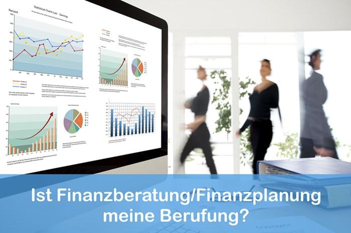 Eine Finanzplanerin